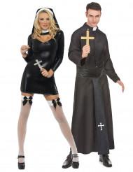 Déguisement couple religieux