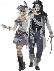 Déguisement couple pirate fantôme Halloween