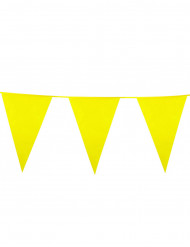 Guirlande fanions jaune