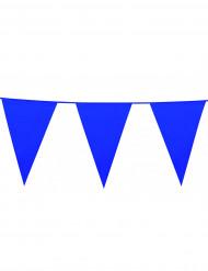Guirlande fanions bleue
