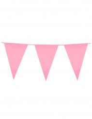 Guirlande fanions rose