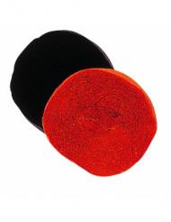 Rouleau papier crépon noir