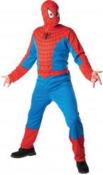 Déguisement Spiderman™ adulte avec cagoule