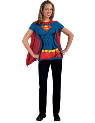 Déguisement Supergirl™ adulte Tee-Shirt