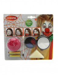 Kit maquillage clown halloween