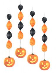 Décorations à suspendre citrouille Halloween