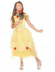 Déguisement princesse jaune enfant fille