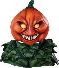 Masque intégral citrouille de luxe halloween adulte