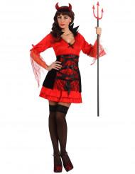 Déguisement démon adulte sexy femme Halloween
