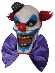 Masque clown effrayant grand sourire adulte Halloween