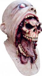 Masque tête de mort sanglante adulte Halloween