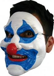 Masque clown bleu adulte Halloween
