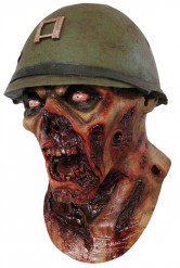 Masque soldat zombie adulte Halloween