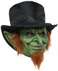 Masque leprechaun maléfique adulte Halloween