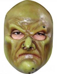 Masque sorcière verte réaliste adulte Halloween