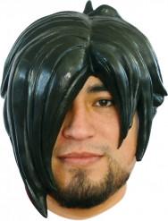 Perruque manga noir adulte homme