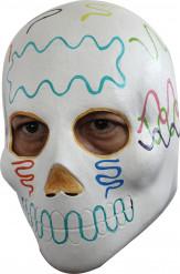Masque crâne adulte Dia de los Muertos