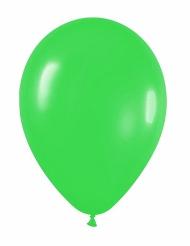 12 Ballons verts 28 cm