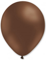 100 Ballons marrons 27 cm