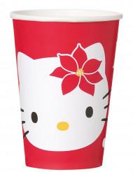 8 Gobelet Hello Kitty™ Noël