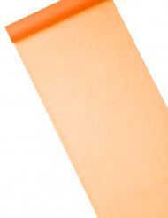 Chemin de table intissé uni orange