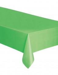 Nappe rectangulaire en plastique vert citron