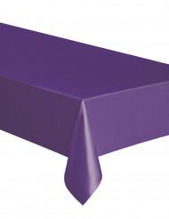 Nappe rectangulaire violette en plastique