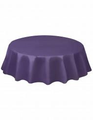 Nappe ronde en plastique violette
