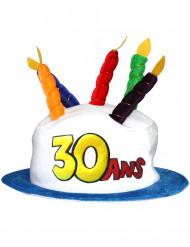 Chapeau Age 30 adulte