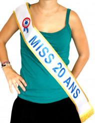 Echarpe Miss 20 ans