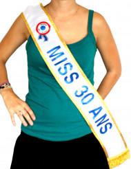 Echarpe Miss 30 ans