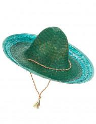Sombrero mexicain vert adulte