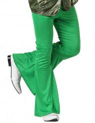Pantalon disco vert homme