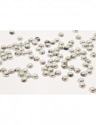 Perles de pluie argent