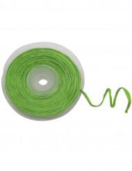Rouleau de raphia avec fil métallique vert