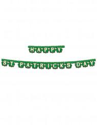 Guirlande verte Happy St. Patrick's Day
