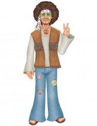 Figurine géante homme hippie