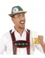 Chapeau bavarois avec marguerite adulte