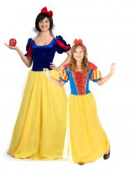 Déguisement couple conte princesse mère et fille