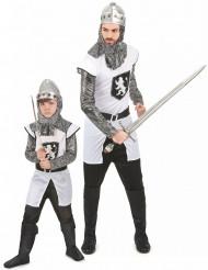 Déguisement couple chevalier père et fils