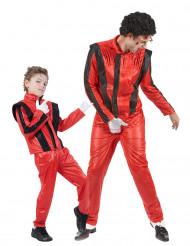 Déguisement couple Star de la pop père et fils