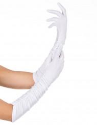 Gants blancs adulte