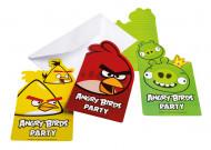 6 invitations carton Angry Birds™
