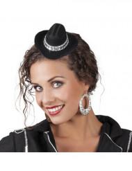 Mini chapeau cowboy femme