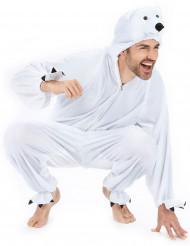 Déguisement ours polaire adulte