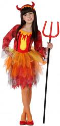 Déguisement reine des diablesses fille Halloween