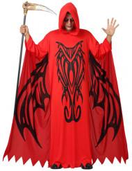 Déguisement démon rouge homme Halloween