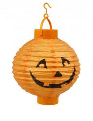 Lanterne à led citrouille orange Halloween