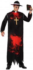 Déguisement religieux zombie homme