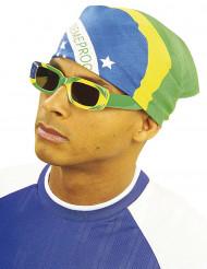Bandana supporter Brésil 55 x 55 cm